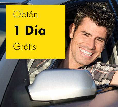 ¡1 día gratis! Renta 1 auto en Europcar a partir del Viernes y obtén 1 día GRATIS.