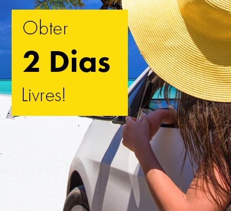 Alugue um automóvel com a Europcar e desfrutar de dois dias de aluguel gratuito.